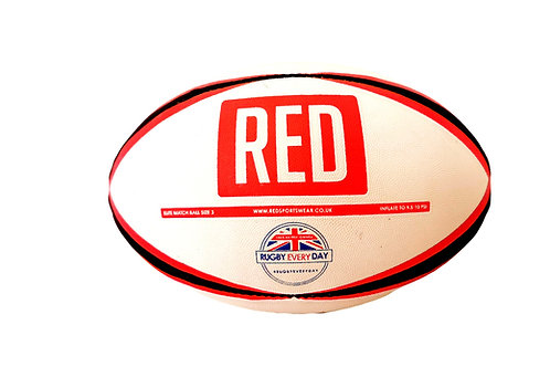 RED Size 3 Training Ball