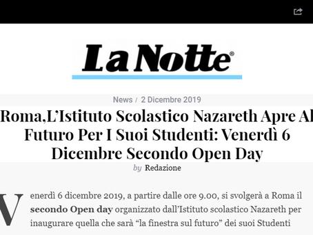 Istituto nazareth roma sulle news di La notte