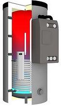 Modulo serbatoio a stratificazione MS/MS-R per stazione acqua sanitaria e gruppi circuiti di riscaldamento