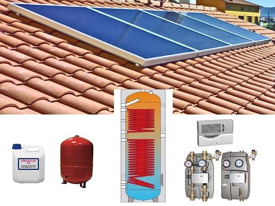 Gruppo Collettori solari