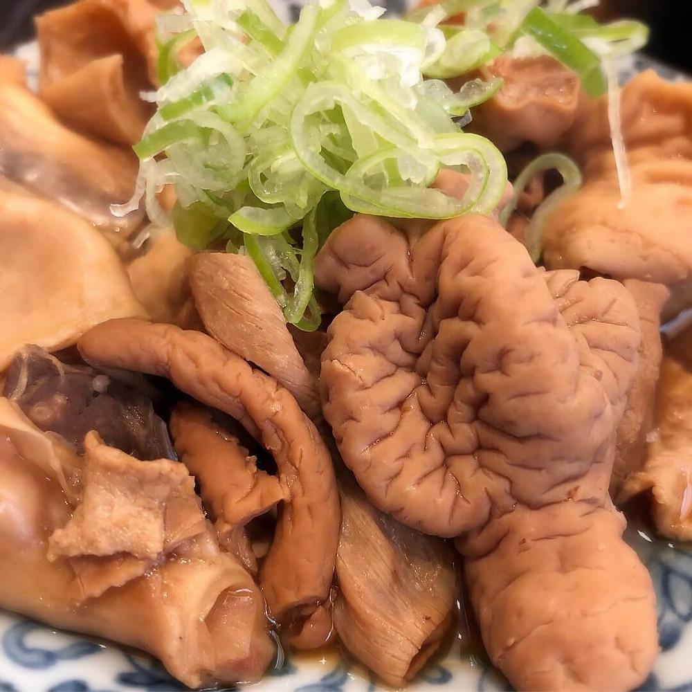 Chitterlings stew @ Toraya Tenma