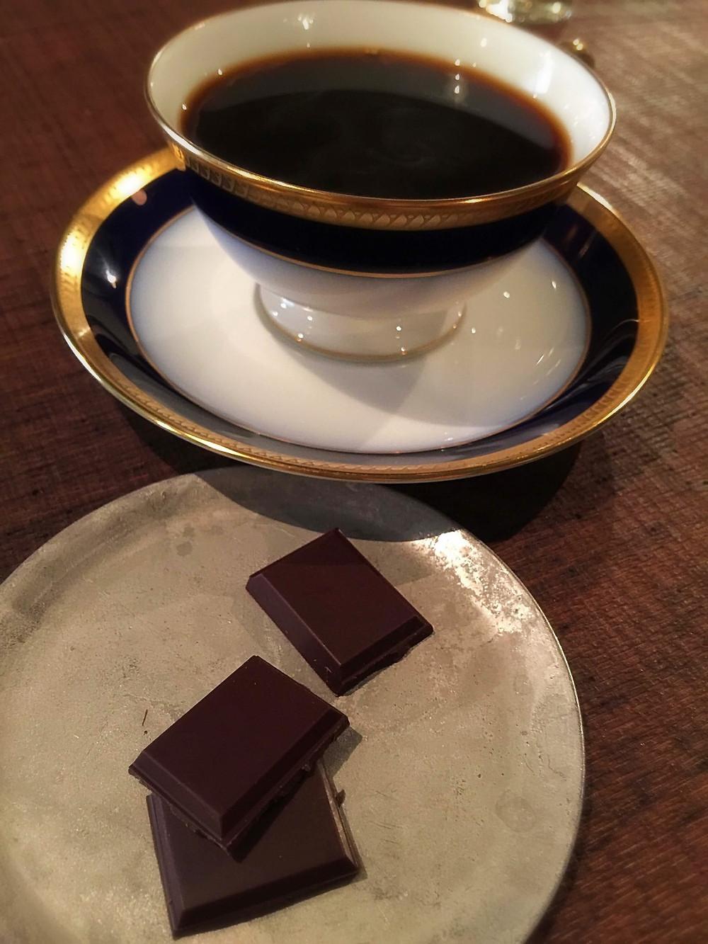 Oriza and Nadeshiko - coffee and chocolate @ Kabuki