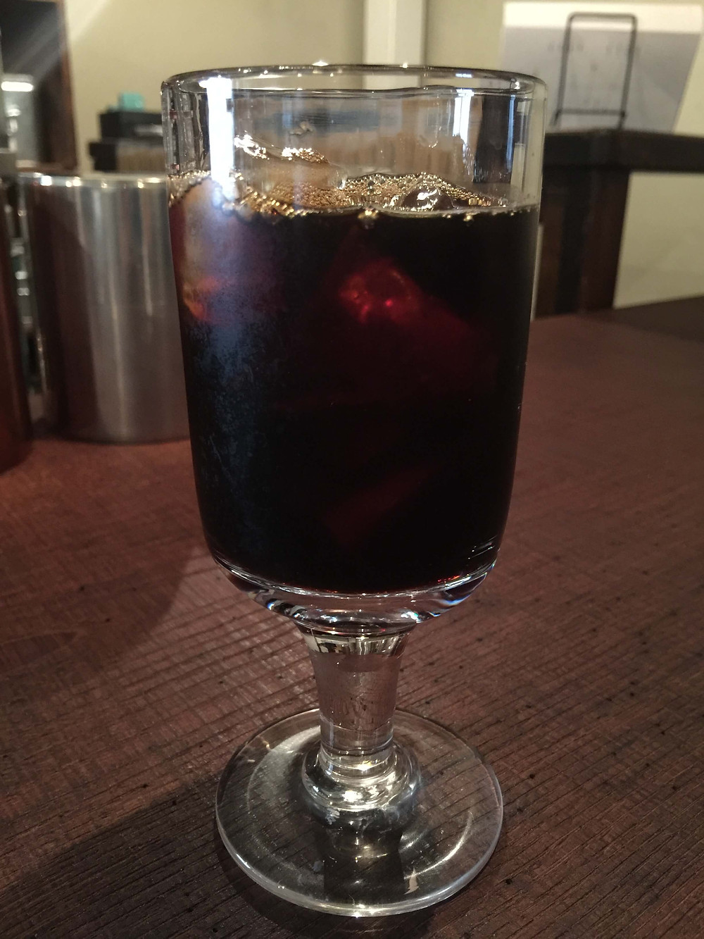 """Iced coffee"" literally @ Kabuki"