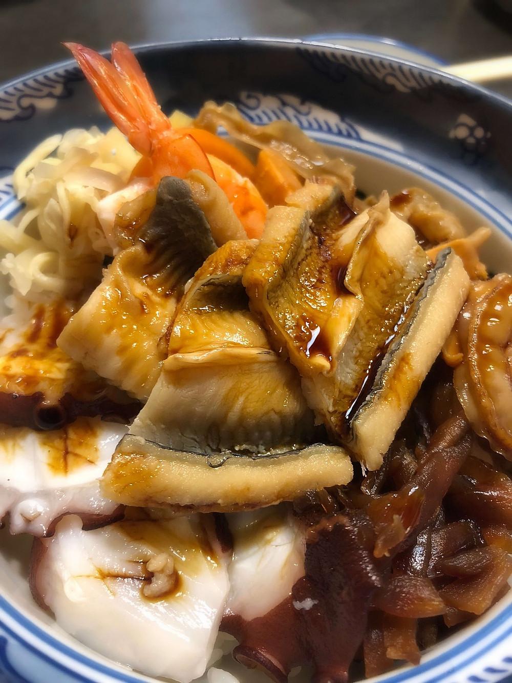 Nimono-don @ Miyako Sushi