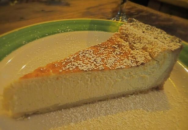 Ricotta cheese cake @ Pepolino