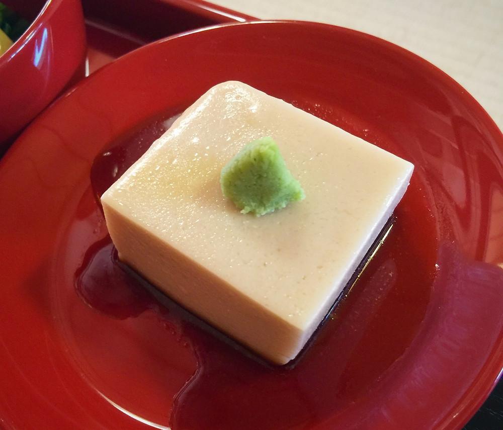 Sesame Tofu at Shigetsu