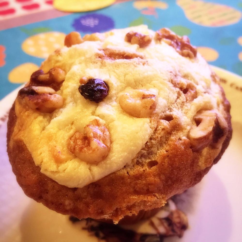 Carrot cake muffin @ Wattz Muffin in Osaka