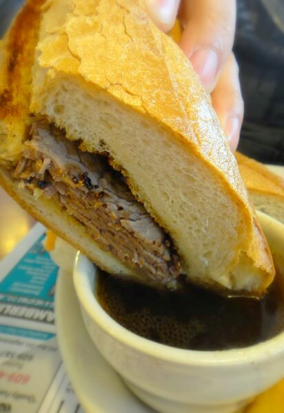 French dip @ Hightstown Diner