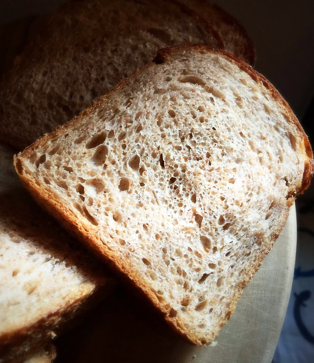 Whole wheat (graham) loaf @ Nomokemana