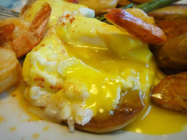 Eggs Oscar @ O'Rourke's Diner