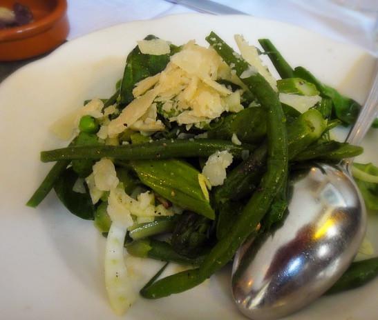 Spring salad @ Al Di La