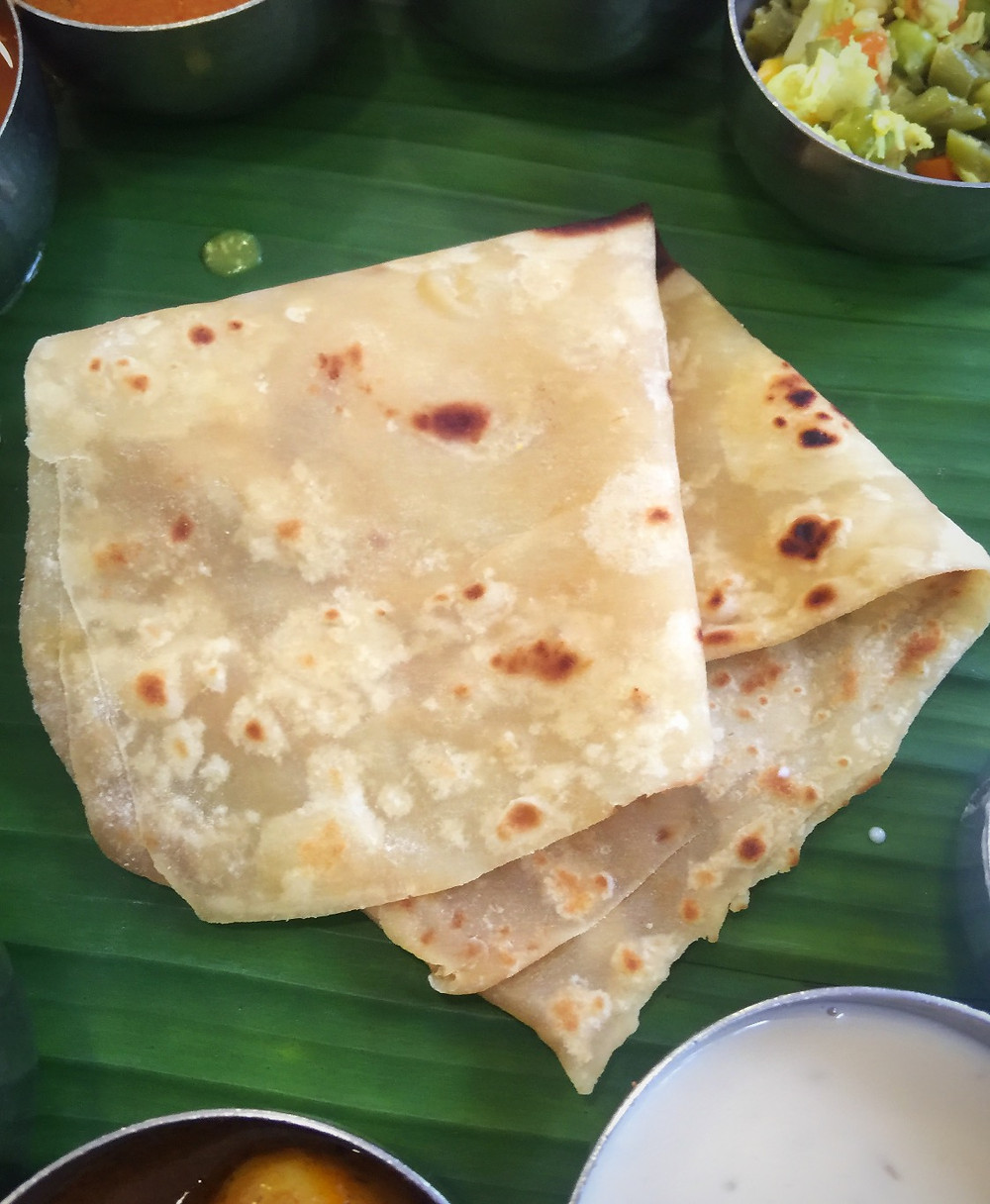 Bad roti @ Sangeetha in Chennai