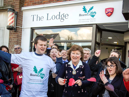 Grand Opening of The Lodge