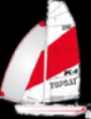TOPCAT K4 Nautilus24 | vela surf kayak