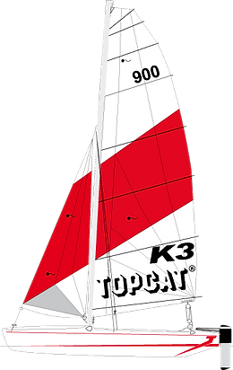 TOPCAT K3 Nautilus24 | vela surf kayak