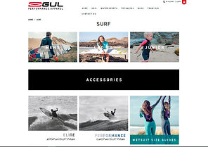 GUL WEBSITE 2015 Nautilus24 | vela surf kayak