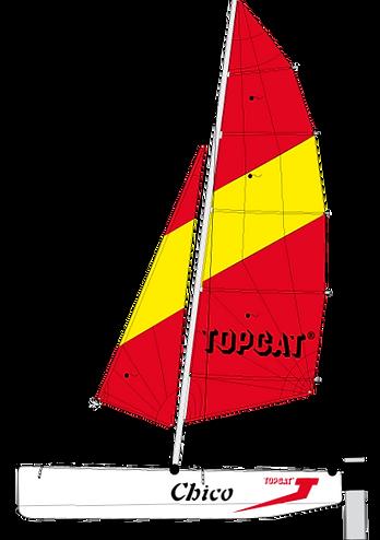 TOPCAT CHICO Nautilus24 | vela surf kayak