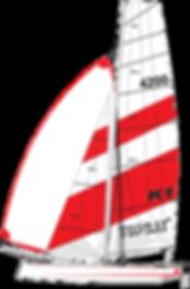 TOPCAT K1 Nautilus24   vela surf kayak
