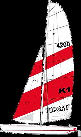 TOPCAT K1 Nautilus24 | vela surf kayak