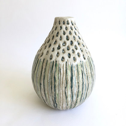 Textured Teardrop Vase