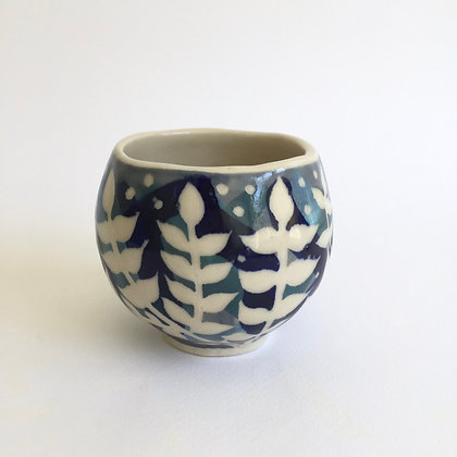 Leafy cup