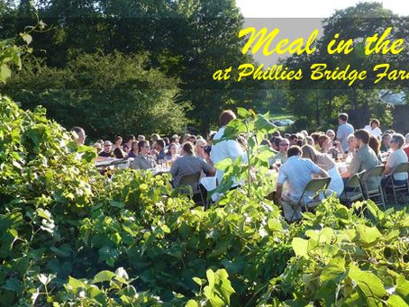 Meal in the Field – a Locavore's Delight