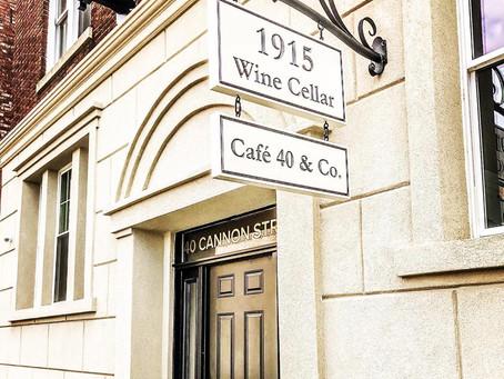 1915 Wine Cellar at 40 Cannon Street