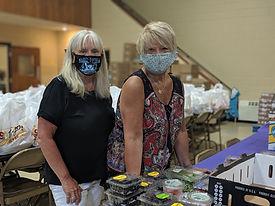 Helping Hands Food Pantry Volunteers Uls