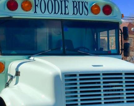Jen Cook's Help Bus aka Foodie Bus