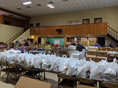 Ulster County Helping Hands Food Pantry.