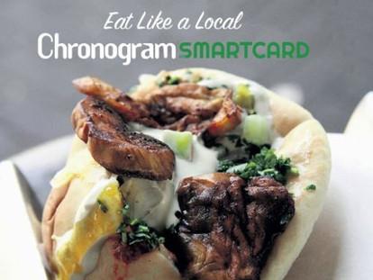 Chronogram Smartcard – Eat Out, Spend Less