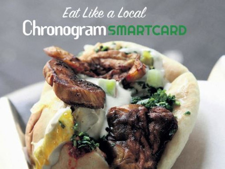 Chronogram Smartcard – Eat Out, Spend Less