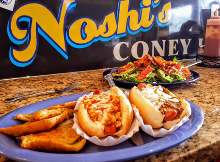 Hot Diggity Dog! Lunch at Noshi's Coney Island