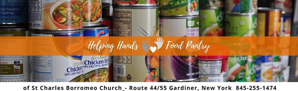 Helping Hands Gardiner NY Food Pantry St