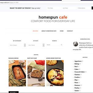 homespunrecipes.jpg  Recipe section of www.homespuncafe.com