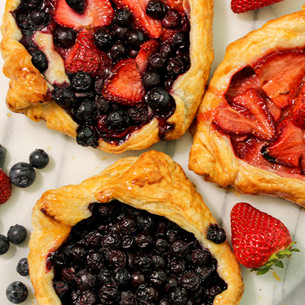 Mixed Berry Gallete
