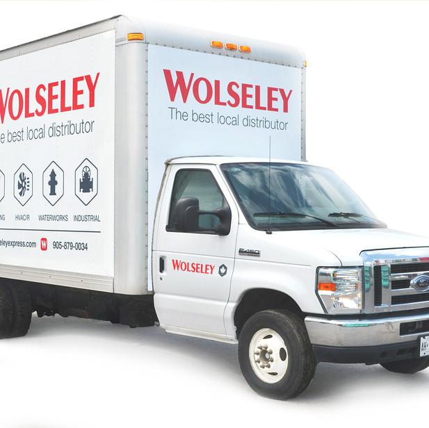 Wolseley truck and fleet rebrand.