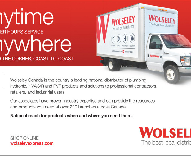 Wolseley Canada Advertising  Content developer and media manager for placement of ads in association trade publications.