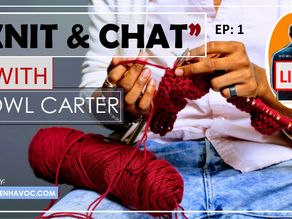 """Black Guy Talks Knitting 