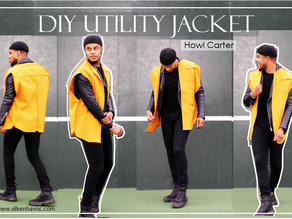 Oversized Utility Jacket - Sewing Tutorial - (Video Included)