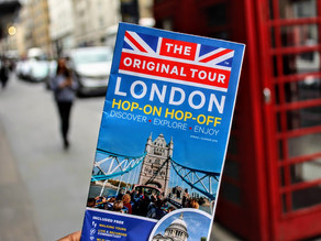 Top 5 things to do in London (Part 1)