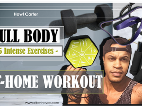 Quarantine Fitness - 5 Simply Intense At-Home Workouts (Video Included)
