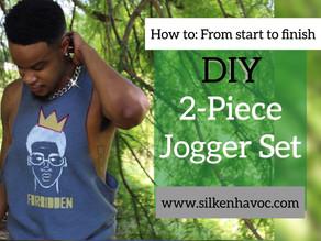 DIY Jogger Shorts & Tank Top | DIY Summer Sweatsuit| Howl Carter