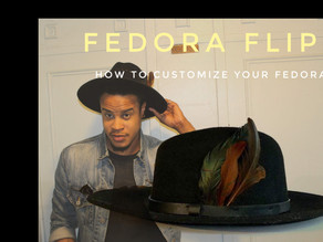 Fedora Flip: Customize your Wide Brim Fedora (Video Included)