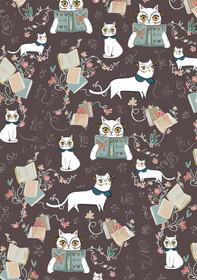 Layal Idriss Cat Pattern