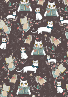 Layal Idriss Cat Pattern
