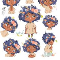 Badriah, Character Design