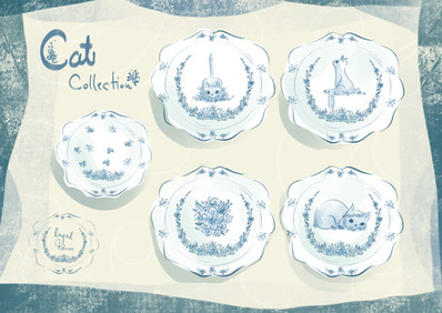 Cat Designs by Layal Idriss