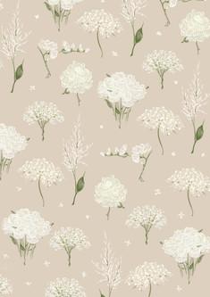 layal Idriss Floral Pattern