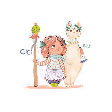 Cici and Mint